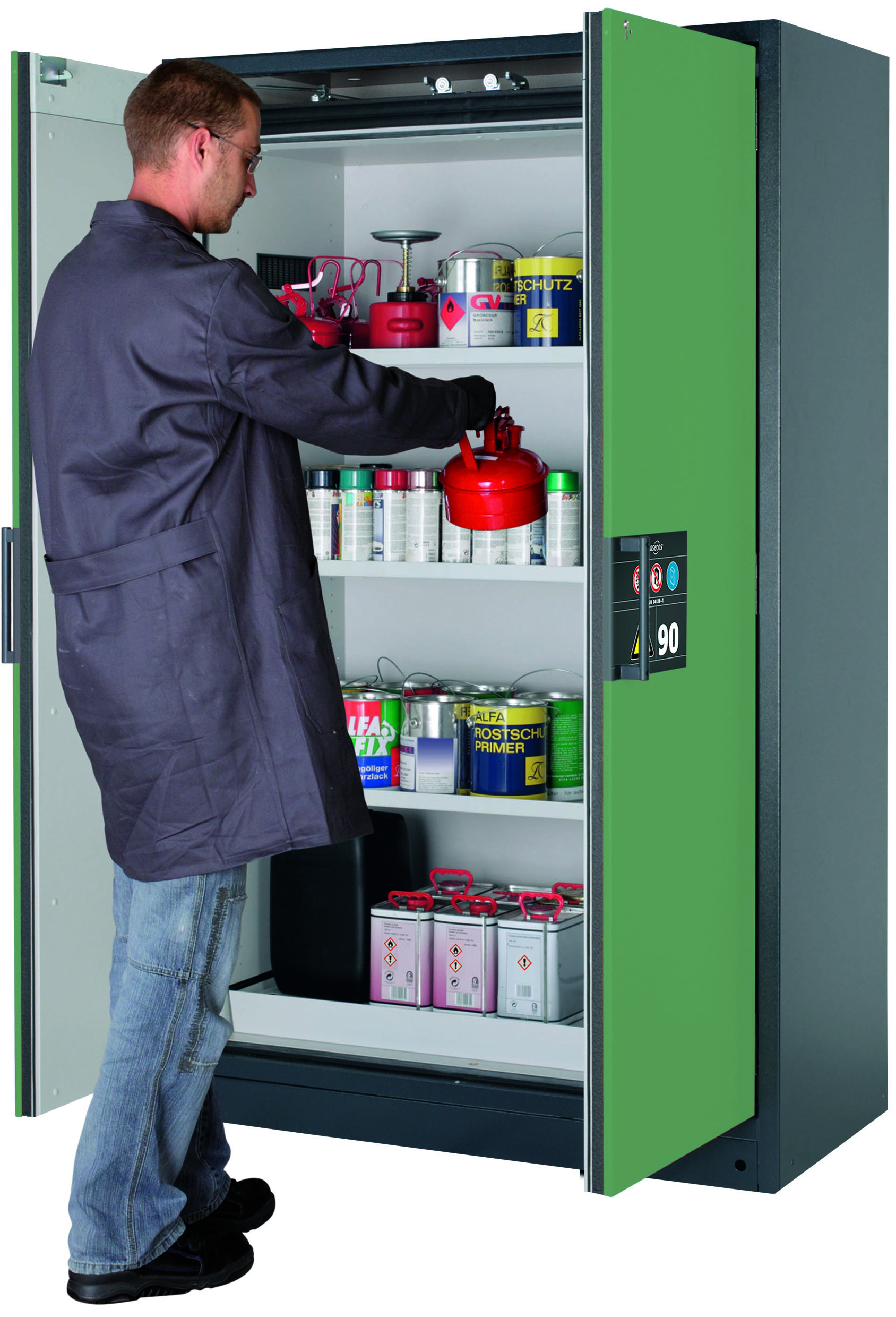 Bs En14470 1 Q 90 Minute Fire Rated Cabinet Chemstore Uk