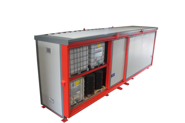 Firevault – Fire Rated Drum & IBC Store