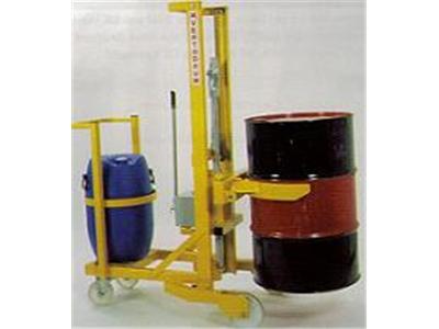 Counterbalanced Drum Stacker | drum palletiser