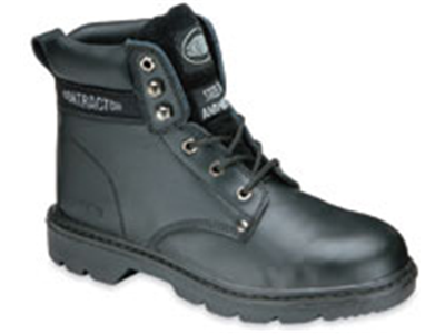 Economy Black Safety Boots