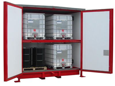 Flammables storage unit