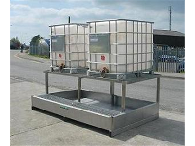 Twin IBCP-R |spill pallets for flammables