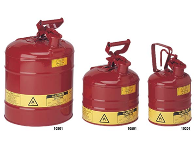 Steel Safety Cans for Flammables