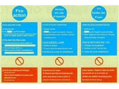Fire Action Notices-3