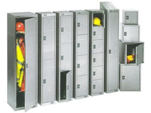Stainless Steel - Lockers