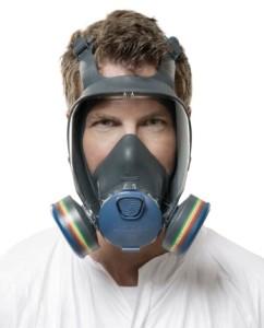Respirator full mask