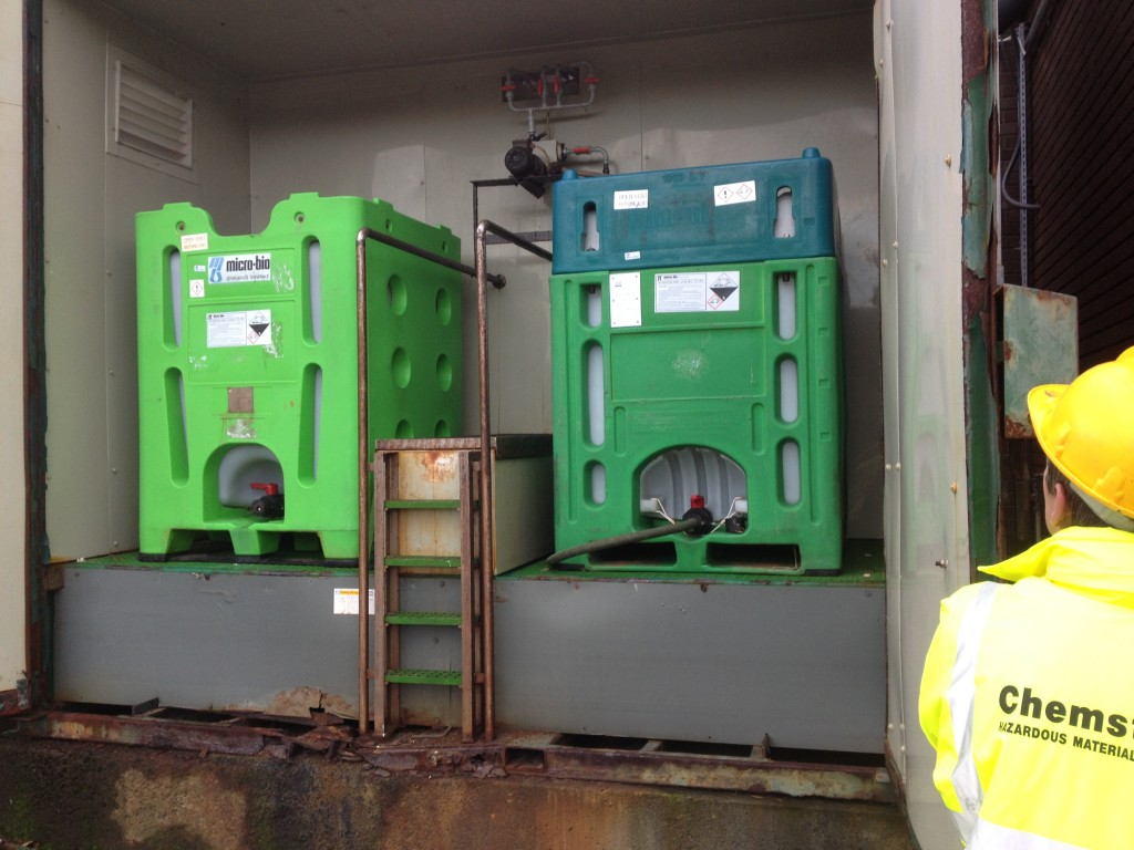IBC Container Storage