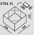 ET04 XL   Ecco Tarp
