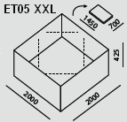 ET05 XXL   Ecco Tarp
