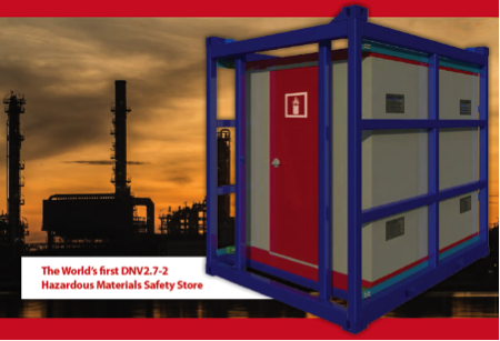 DNV Flammable Safety Store