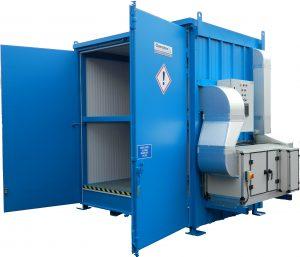 4 Pallet Temperature controlled unit