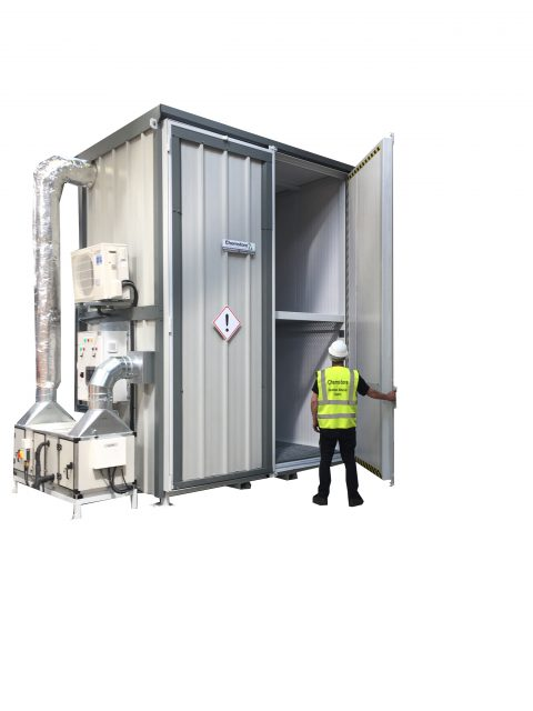4 Palletet temperature controlled store thermovault