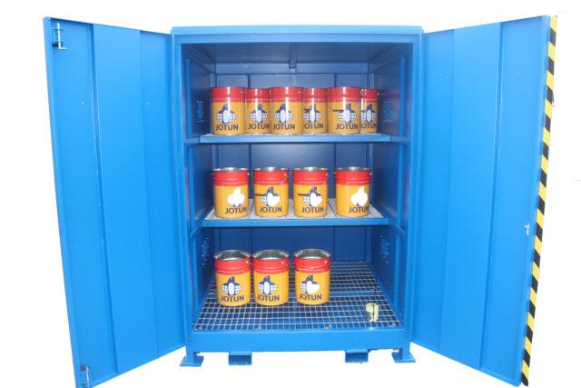 Hazvault – Bunded Chemical Cabinet