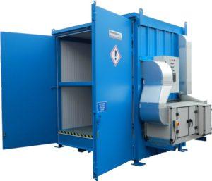 pervoxide hazvault ventilation system