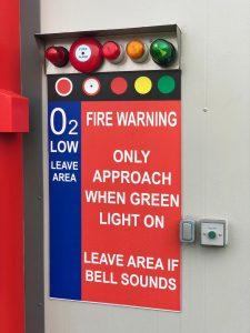 Traffic Light entry system