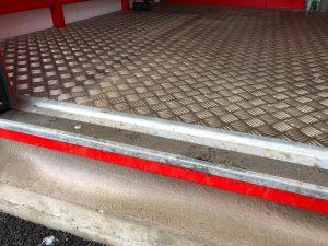 checkerplate flooring