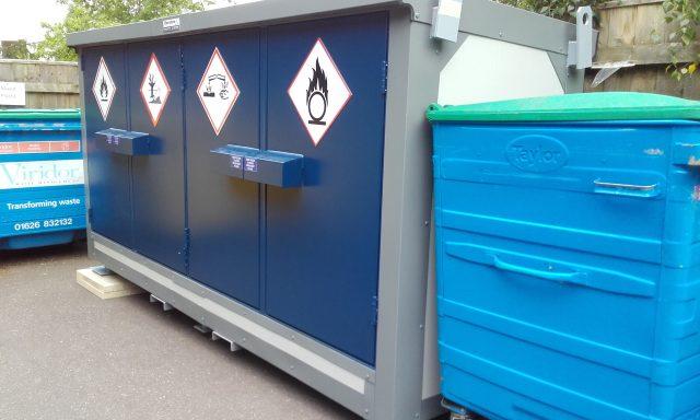 university chemical storage
