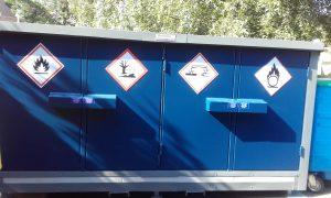 segregation of chemicals 4 doors
