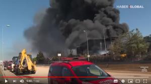 oil drum explosion