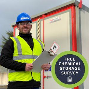 Free chemical storage survey