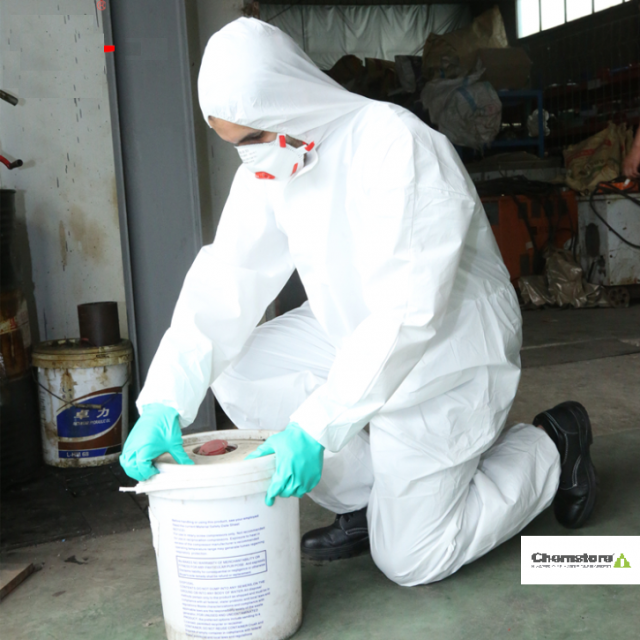 Type 5 -6 Micorporous safety coveralls