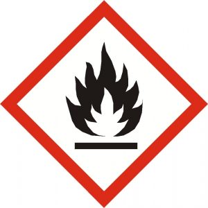 flammable risk CLP